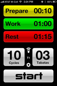 Interval Sculpt screen shot